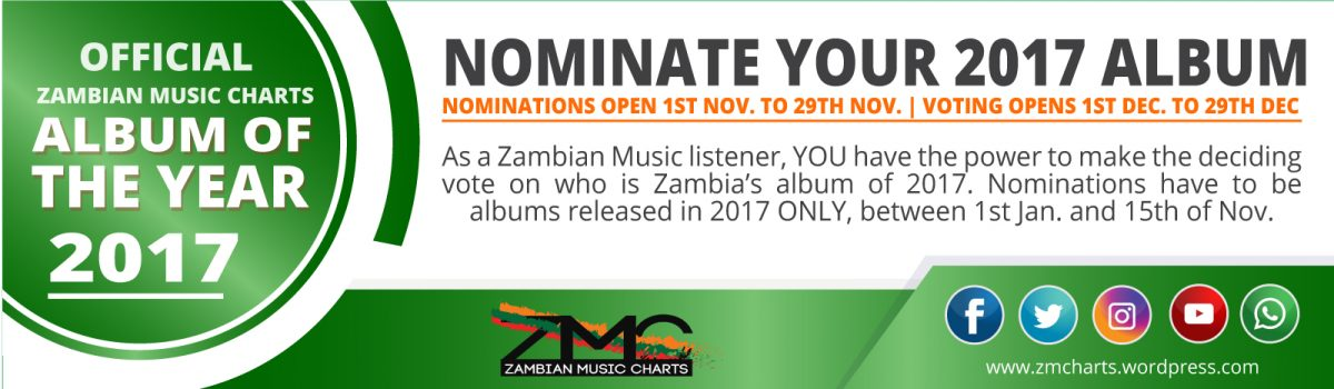 NOMINATE YOUR ZMC 2017 ALBUM OF THE YEAR
